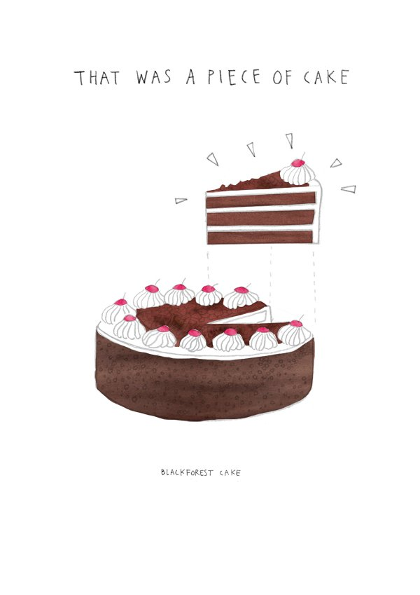 Piece of Cake Black Forest
