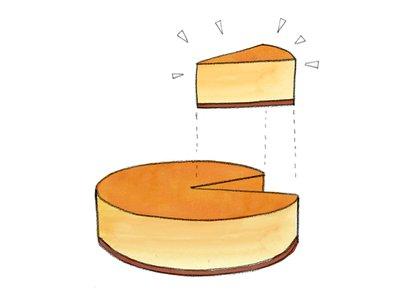 Piece of Cake Cheesecake