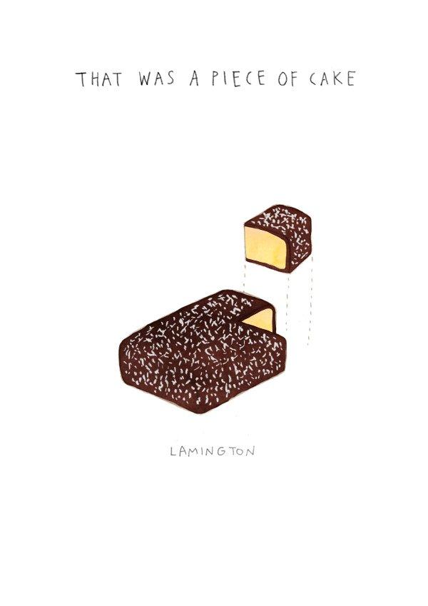 Piece of Cake Lamington